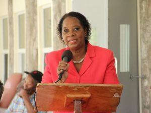 Coordinator of the Nevis Seniors Division in the Ministry of Social Development Garcia Hendrickson (file photo)