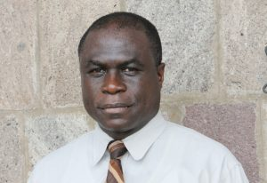 General Manager of the Nevis Solid Waste Management Authority Andrew Hendrickson