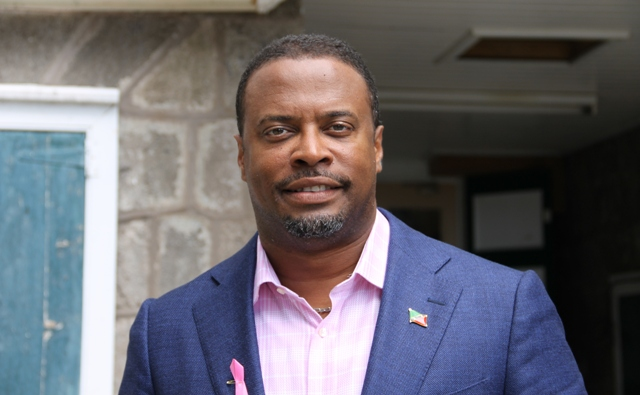 Deputy Premier of Nevis and Minster of Tourism Hon. Mark Brantley