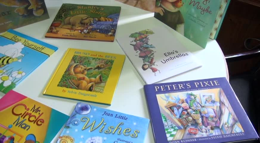 A selection of the 12 books involved in the OneWorld Schoolhouse Foundation programme