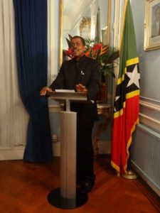 St. Kitts and Nevis High Commissioner in London His Excellency Dr. Kevin M. Isaac (file photo)