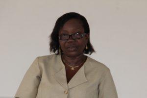 Nurse Ermine Jeffers Acting Coordinator of Community Nursing Services