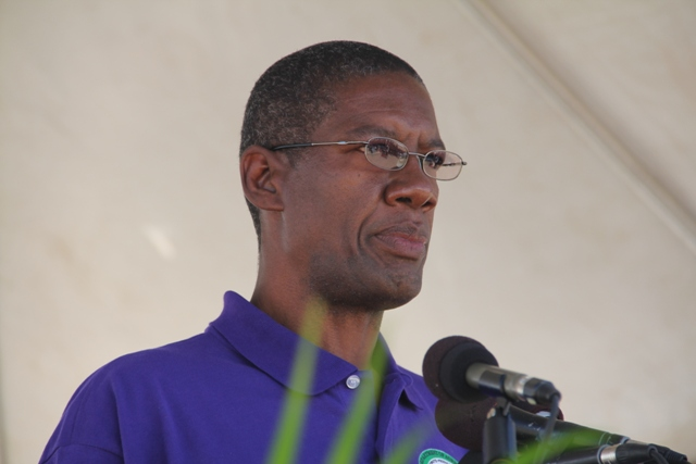 Director of Agriculture on Nevis Mr. Keithley Amory (file photo)