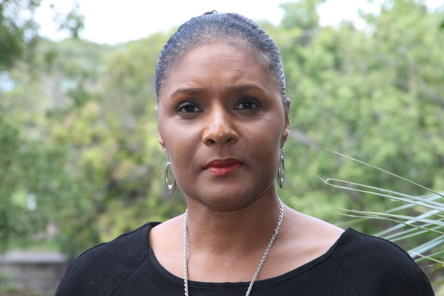 Shelagh James, Communications Officer in the Ministry of Tourism on Nevis