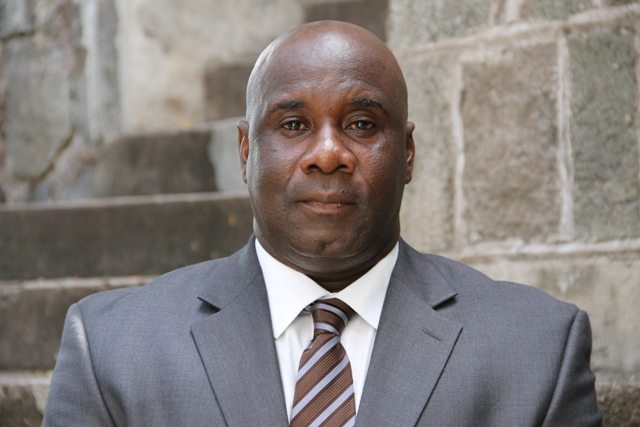 Hon. Alexis Jeffers Minister responsible for Public Utilities in the Nevis Island Administration