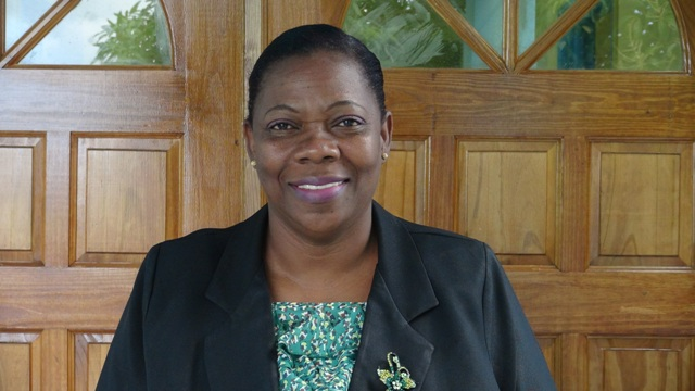 Lorraine Archibald, Coordinator of the Gender Affairs Division, Social Services Department in the Ministry of Social Development on Nevis