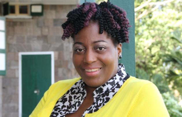 Nicole Liburd winner of the 2016 Nevis Culturama Festival Slogan Competition