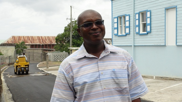 Ernie Stapleton, Permanent Secretary in the Ministry of Communications and Works on Nevis