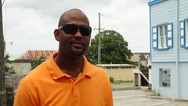 Raoul Pemberton, Director of the Public Works Department on Nevis