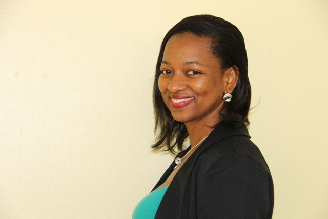 Shevanee Nisbett, Health Educator in the Ministry of Health's Health Promotion Unit, Nevis Island Administration