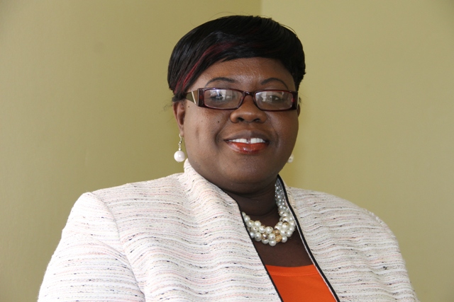 Junior Minister responsible for Youth and Sports on Nevis Hon. Hazel Brandy-Williams