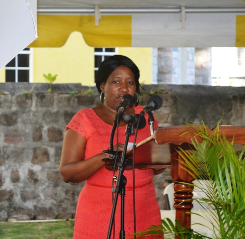 Director of the Community Development Department in the Nevis Island Administration Janette Maloney (file photo)