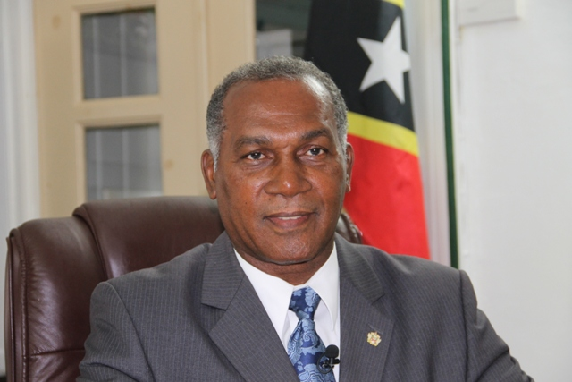 Hon. Vance Amory, Minister responsible for Social Security in St. Kitts and Nevis