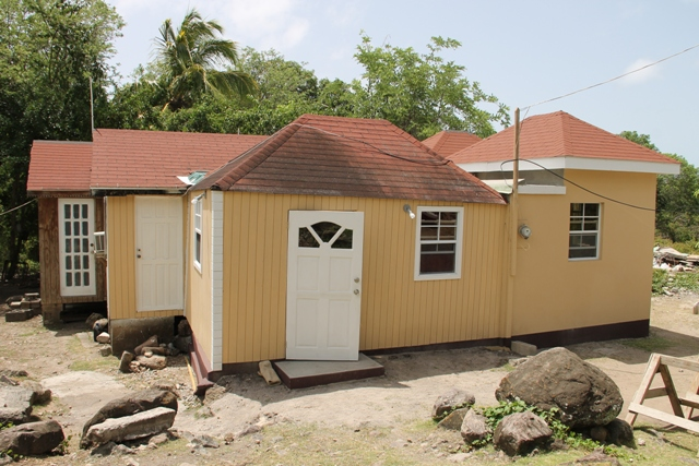 The home of Ingrid Browne of Hickman's Village on June 15, 2016, with a new extension added by the Ministry of Social Development through its Community Housing Programme to assist with her disability