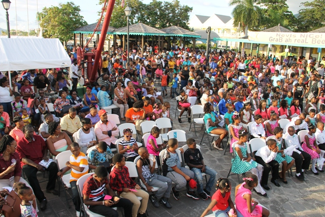 A cross section of the attendees at the official launch of Culturama 42 at the Charlestown Waterfront on June 17, 2016