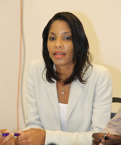 Nadine Carty-Caines, Programme Coordinator at the Ministry of Health's HIV Unit (file phto)
