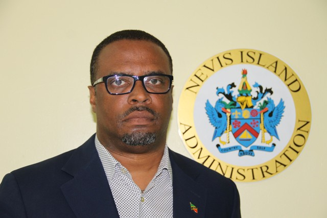 Acting Premier of Nevis Hon. Mark Brantley