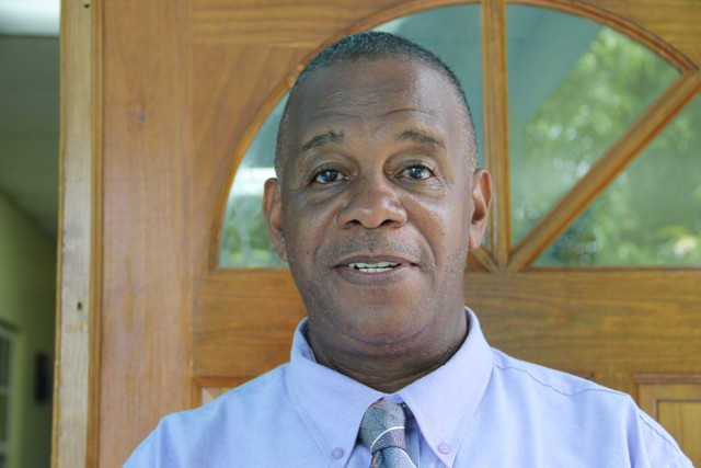 Eric Evelyn, Permanent Secretary in the Ministry of Agriculture and Fisheries on Nevis