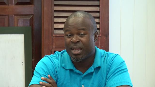 Greg Phillip, Chief Executive Officer of the Nevis Tourism Authority, speaking with the Department of Information on August 09, 2016