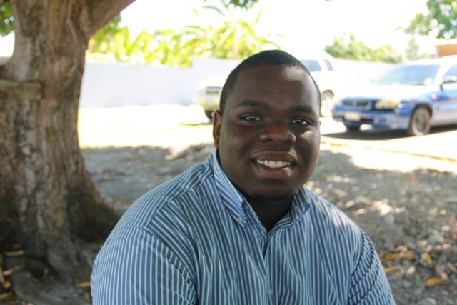 St. Kitts and Nevis top 2016 Caribbean Secondary Education Certificate examinations student Rol-J Williams, of the Gingerland Secondary School speaking with the Department of Information in a recent interview