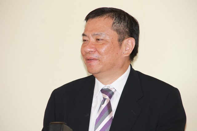 Republic of China (Taiwan) Resident Ambassador to St. Kitts and Nevis His Excellency George Gow Wei Chiou (file phot