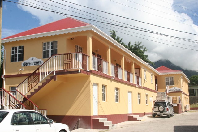 Office of the Ministry of Finance in the Nevis Island Administration