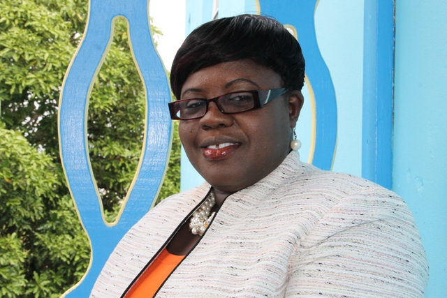 Hazel Brandy-Williams, Junior Minister in the Ministry of Social Development in the Nevis Island Administration (file photo)
