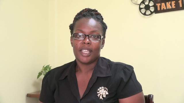 Deputy Post Mistress on Nevis Rhonda Williams