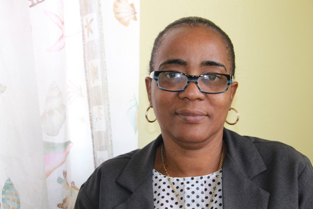 Catherine Forbes, Director of the Small Enterprise Development Unit in the Ministry of Finance in the Nevis Island Administration