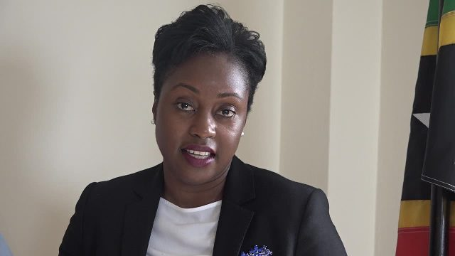 Dr. Tres-Ann Kremer, Political Adviser in the Commonwealth Secretariat's Political Division in London heading a Commonwealth initiative to advance women's political leadership in the Caribbean