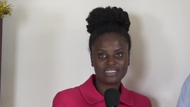 Mrs. Lebrechtta Nana Oye Hesser-Bayne, Director of Shiddan Sustainable Development Solutions Ltd., consultant for a Commonwealth Secretariat project being conducted in the Caribbean