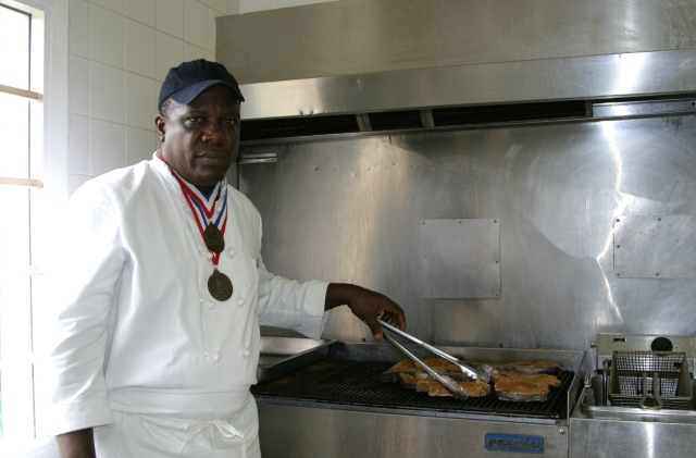 "Chef Lenny Liburd of Rawlins to appear on Emmy Award winning PBS show ""A Taste of History"" (file photo)"