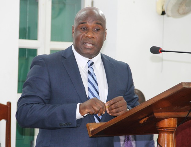 Minister responsible for Housing and Lands on Nevis Hon. Alexis Jeffers (file photo)