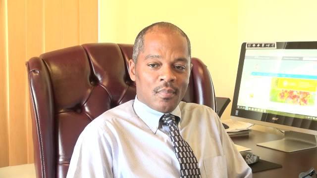 Gary Pemberton, Hospital Administrator at the Alexandra Hospital on Nevis