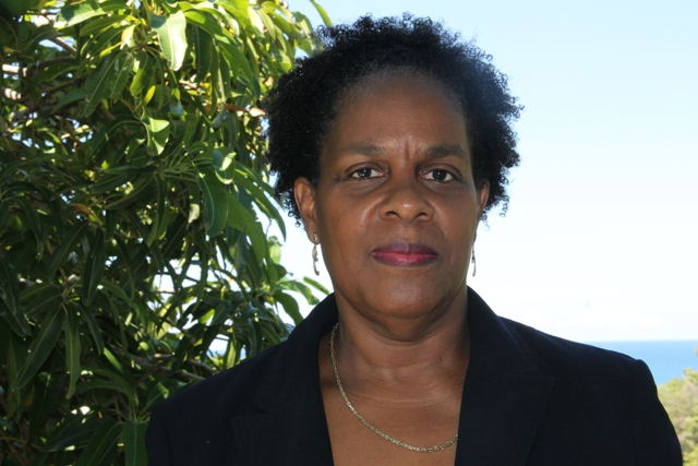 Dr. Judy Nisbett, Medical Officer of Health in the Ministry of Health on Nevis