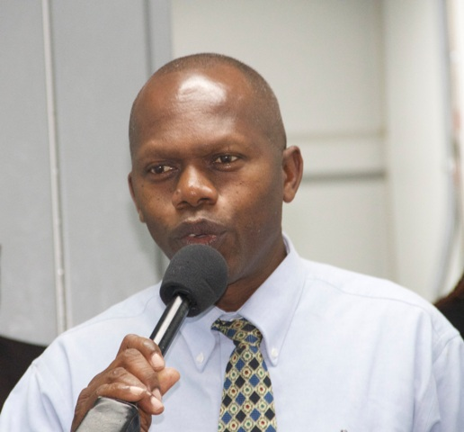 Jervan Swanston, Acting General Manager of the Nevis Electricity Company Limited