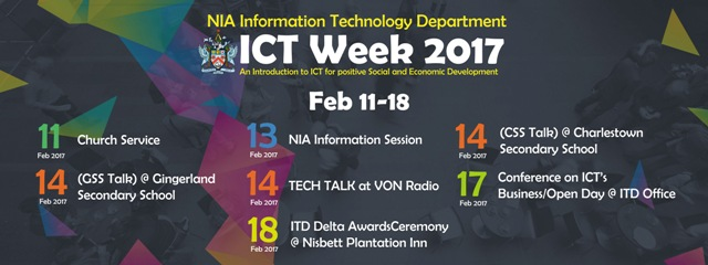 Information Technology Department's Information and Communication Technology Week 2017 activities