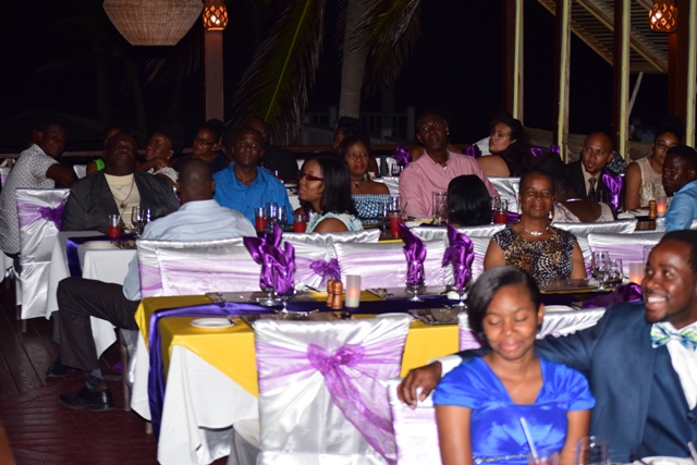 A section of invitees at the 2nd Annual ITD Delta Awards Dinner at the Nisbet Plantation Beach Hotel on February 18, 2017