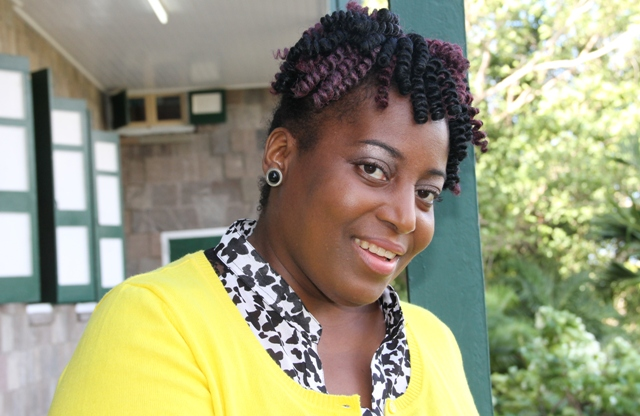 Nicole Liburd, Executive Director of the Nevis Historical and Conservation Society (file photo)