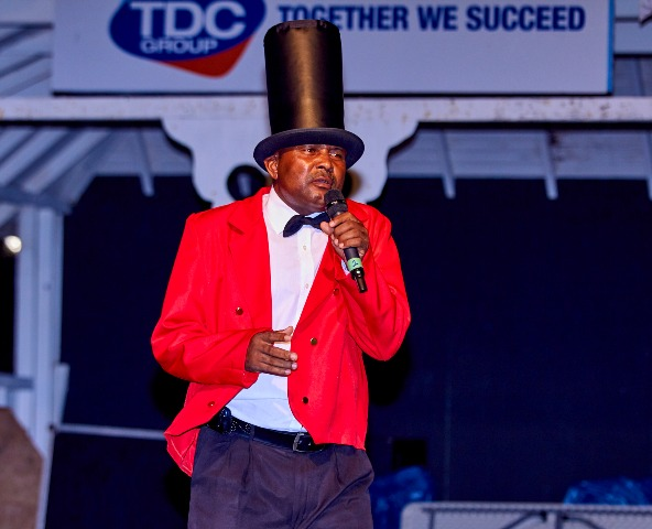Calypsonian King Irwin performing (file photo provided by Ryan D. Maynard - REFiiC)