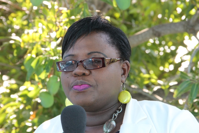Hon. Hazel Brandy-Williams, Junior Minister in the Ministry of Social Development on Nevis