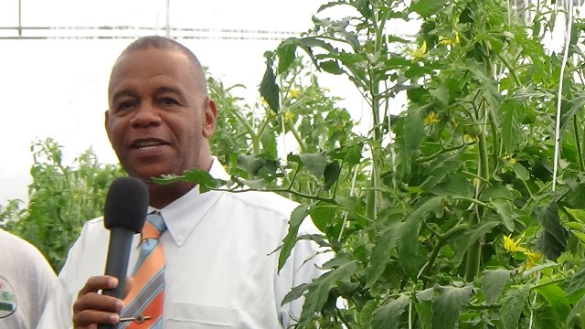 Eric Evelyn, Permanent Secretary in the Ministry of Agriculture on Nevis