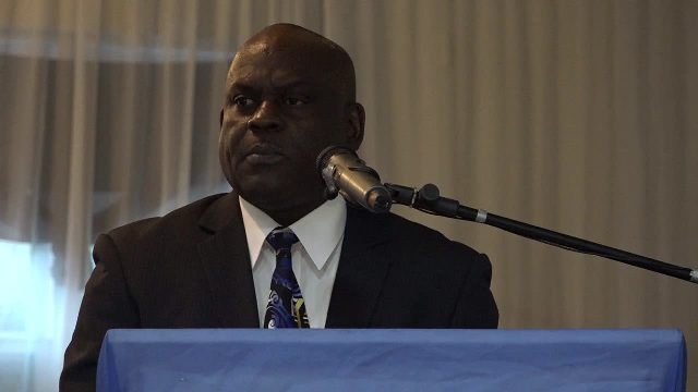Superintendent Trevor Mills, Head of the Royal St. Christopher and Nevis Police Force (Nevis Division)