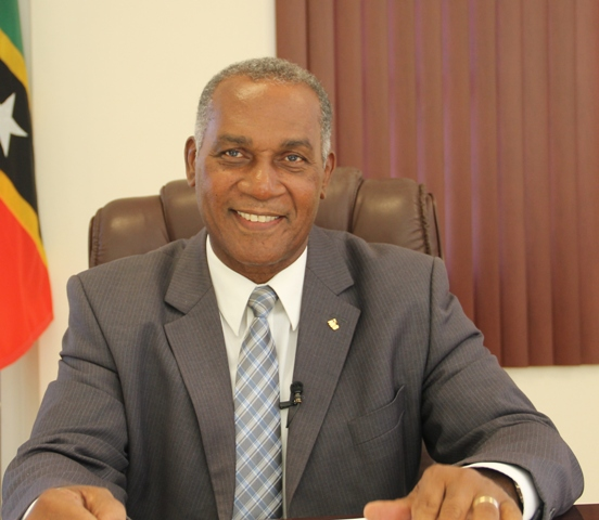 Hon. Vance Amory, Premier of Nevis and Minister of Education