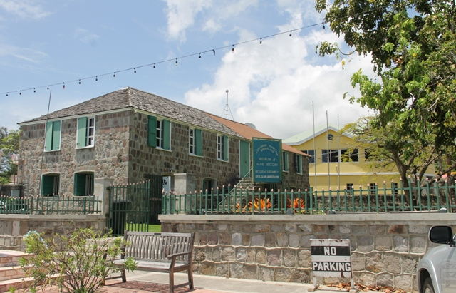 : Nevis Island Assembly Chambers in Charlestown