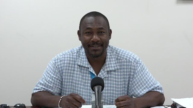 Brian Dyer, Director of the Nevis Disaster Management Department