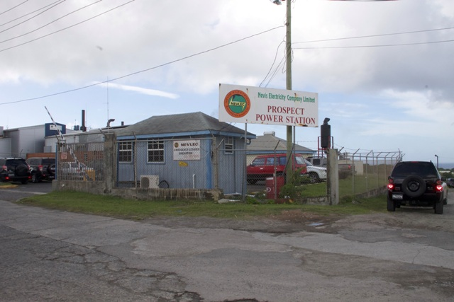 The Nevis Electricity Company Limited power plant at Prospect (file photo)