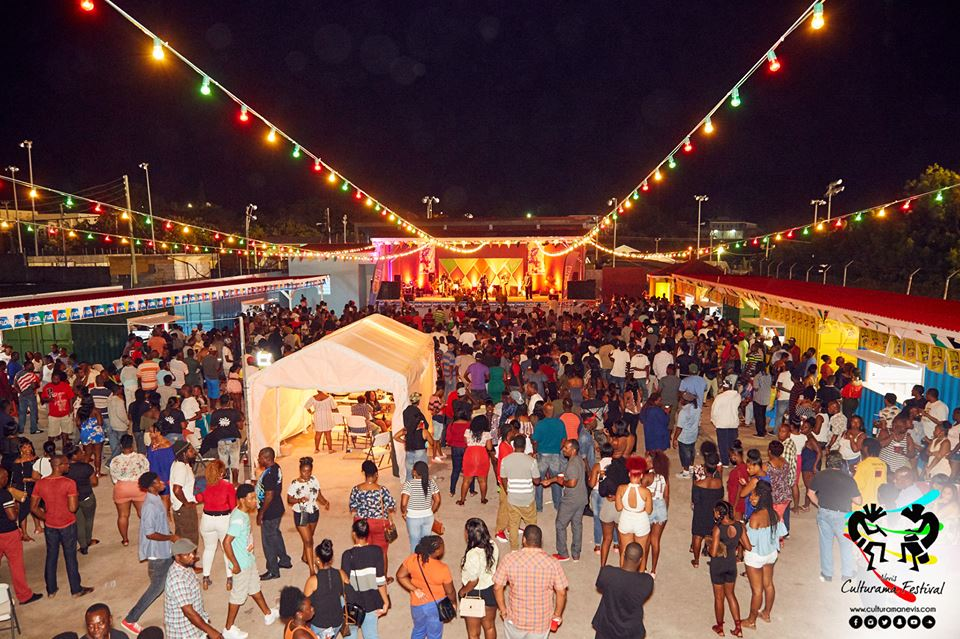 A scene on opening night at the newly refurbished $1.7million Cultural Village on June 14, 2017