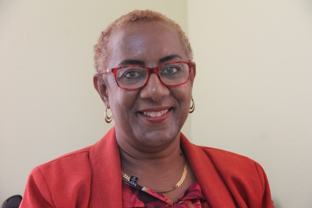 Paulette Hanley, Administrative Assistant at the Nevis Electricity Company Limited and Chairman of its 17th Anniversary Planning Committee