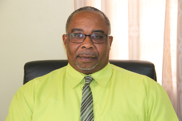 Mr. Jerome Rawlins, Chief Executive Officer at the Nevis Cultural Development Foundation at the Department of Information on August 18, 2017